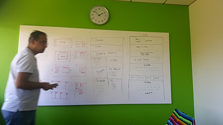 Whiteboarding page layouts
